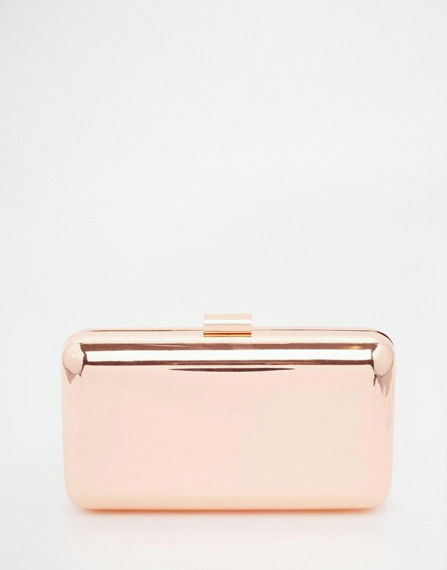 Image 1 of ASOS Box Clutch Bag | Accessory/ stuff | Pinterest