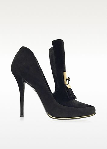 7c9f09338014 BALMAIN Constance Black Soft Suede Pump.  balmain  shoes  pump