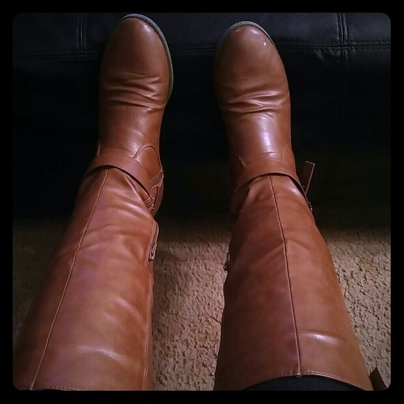Boots Brown, Knee high Banana Republic Shoes Over the Knee Boots