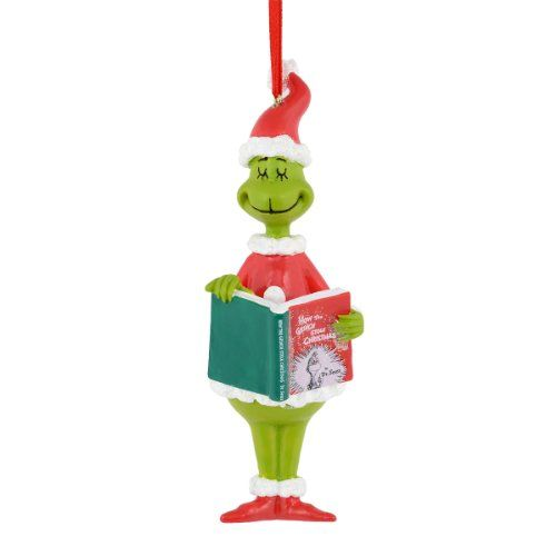 department 56 grinch grinch reading ornament 5 inch department 56 httpwwwamazoncomdpb00if3ry6crefcm_sw_r_pi_dp_lo3vub14bf4xs