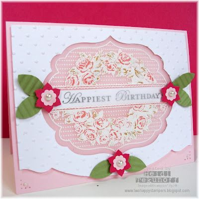 Stampin' Up! SU, Two Happy Stampers