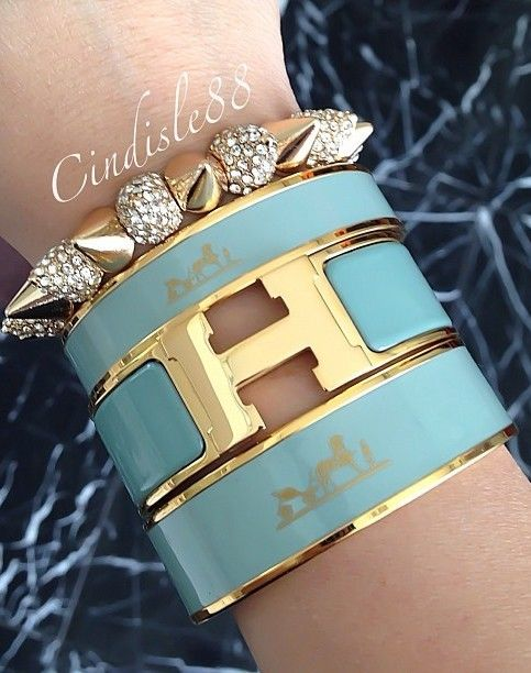 Jade Hermes Stacked Keep The Glamour Bestaybeautiful Bracelet Jewelry
