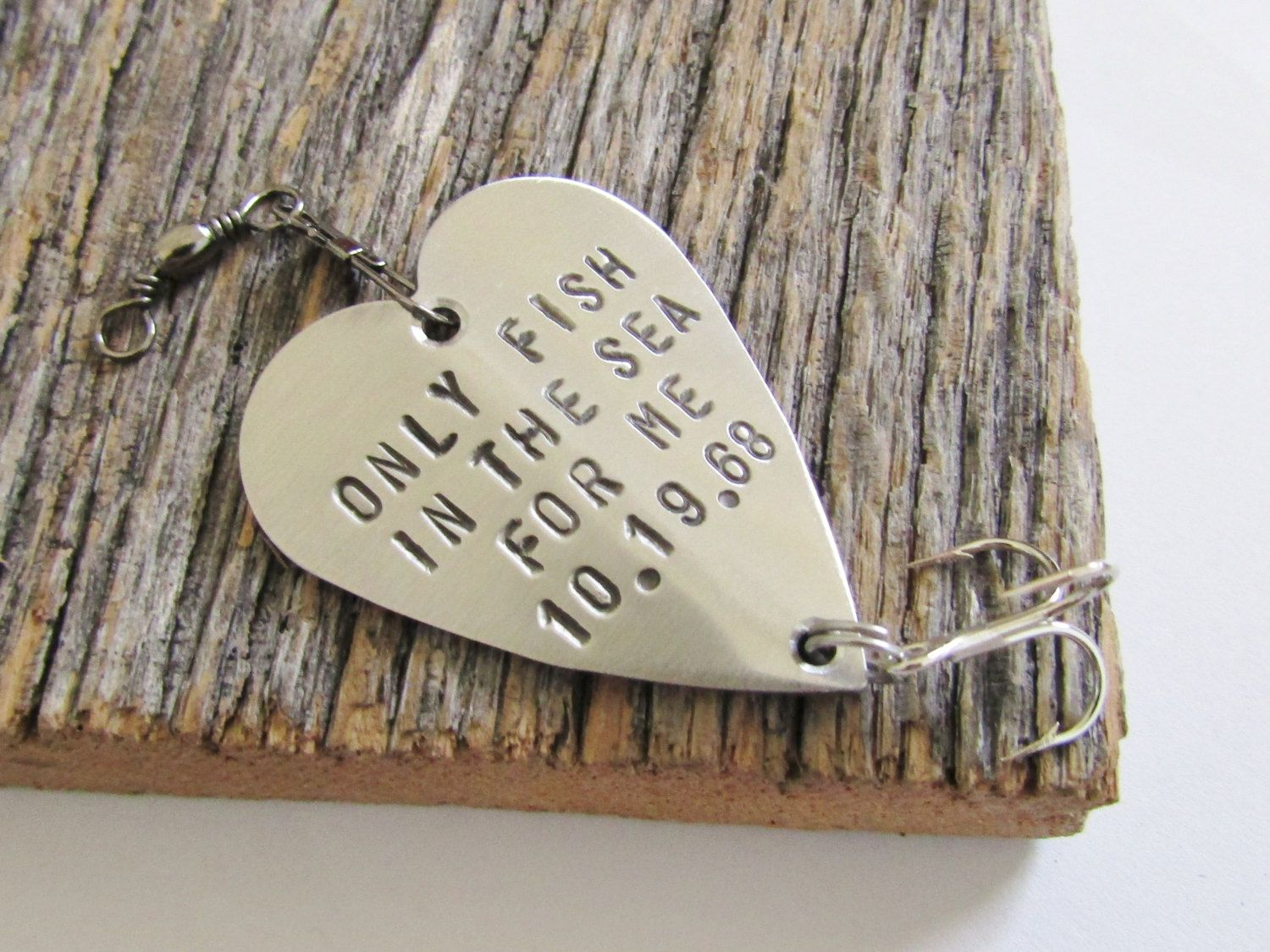 Christmas Gift For Boyfriend Present Idea Fishing Lure Personalized Wife Winter
