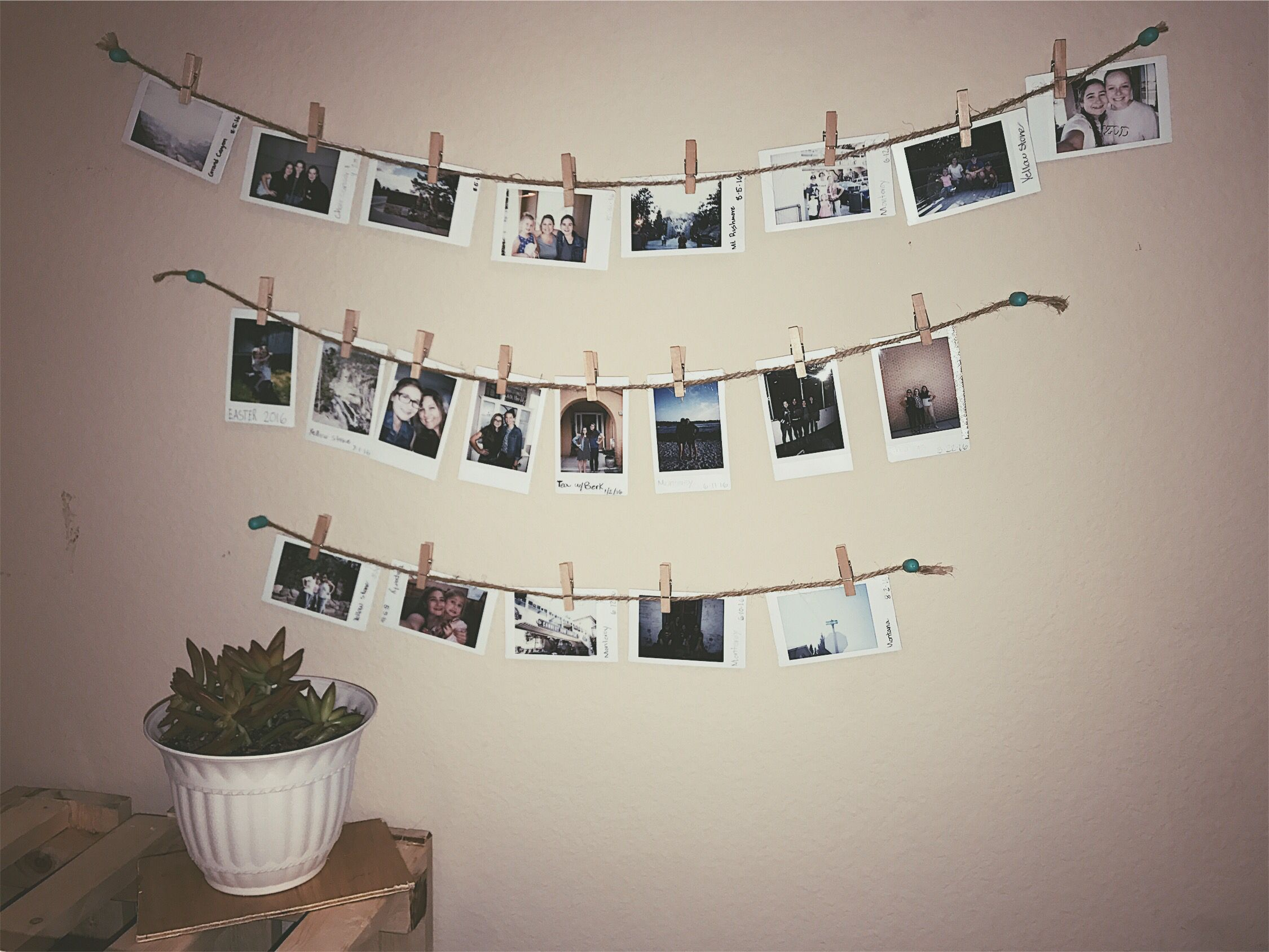 Polaroid film wall decor Polaroid Film My