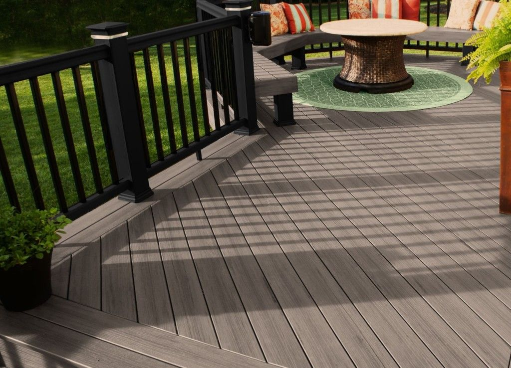 Evergrain Decking Vs Timbertech Composite Which Is Better Deck Paint Staining Deck Deck Paint Colors