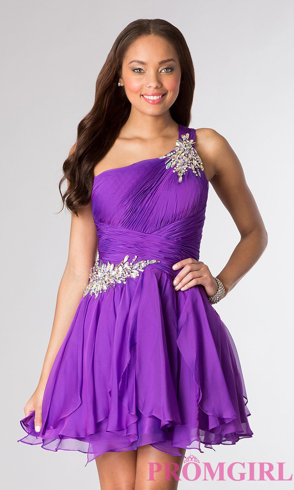 Purple Bat Mitzvah Dress