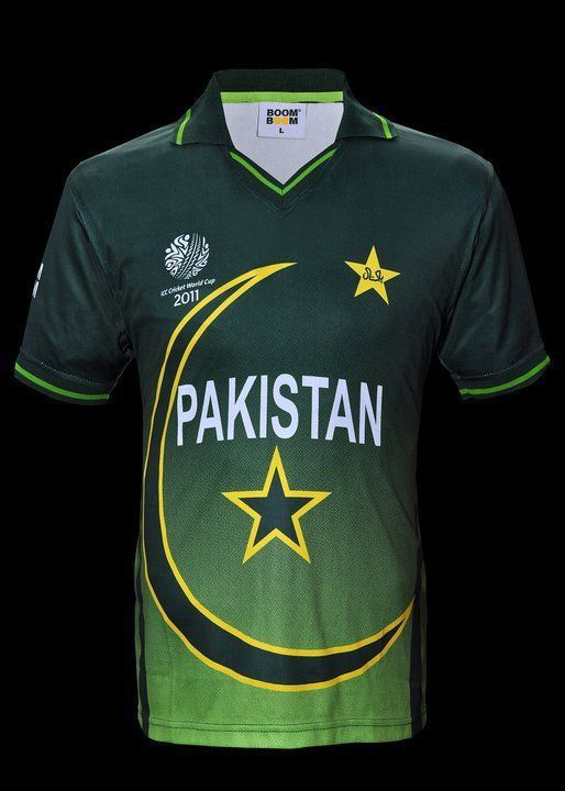 Official Pakistan Cricket World Cup Jersey Size Medium Cricket Store Cricket World Cup World Cup Jerseys