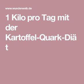 Photo of 1 Kilo pro Tag mit der Kartoffel-Quark-Diät
