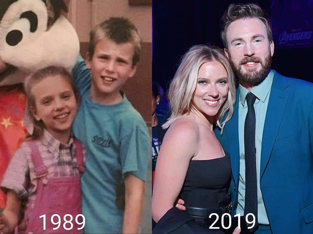 Chris Evans And Scarlett Johansson In 2020 Marvel Actors Marvel Superheroes Marvel Jokes