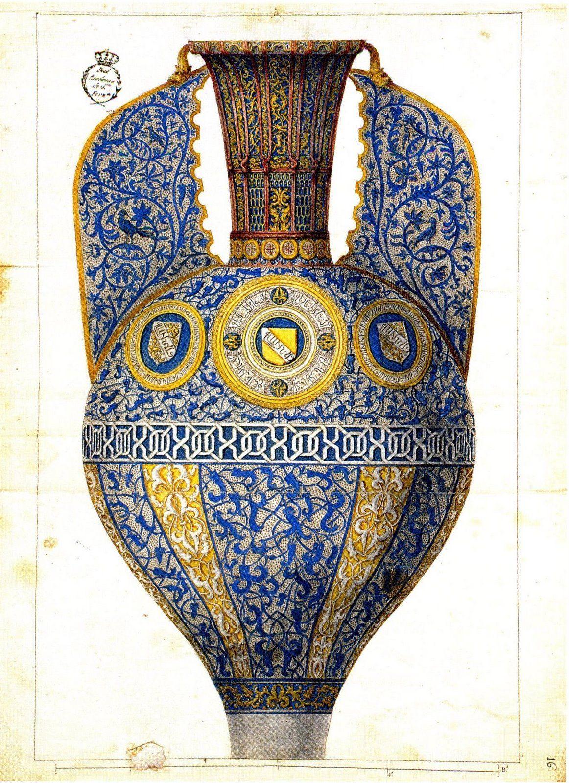 El famoso jarron de las gacelas encontrado en la alhambra for Alhambra decoration