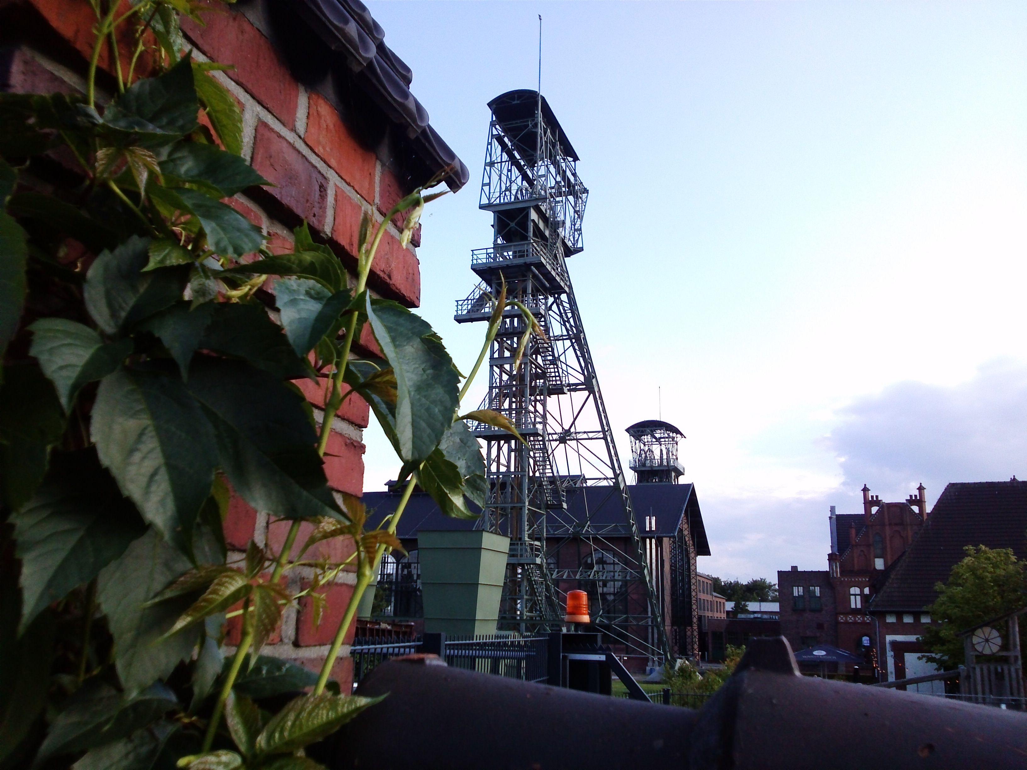 Schwarzkaue des Bergwerkes Ost in Hamm Foto Dietrich Hackenberg ehemalige Zechen im Ruhrgebiet Pinterest