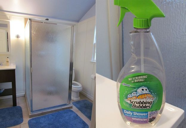 Helpful Cleaning Tips For Incredibly Lazy People Lazy People - Bathroom cleaner person