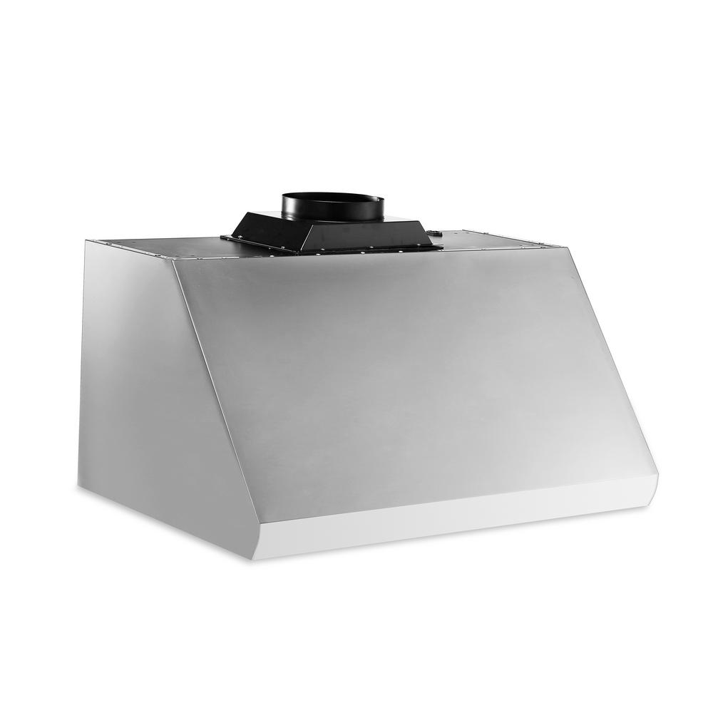 Thor Kitchen 30 In Undercabinet Range Hood In Stainless Steel Hrh3005u The Home Depot Range Hood Stainless Steel Hood Cord Light