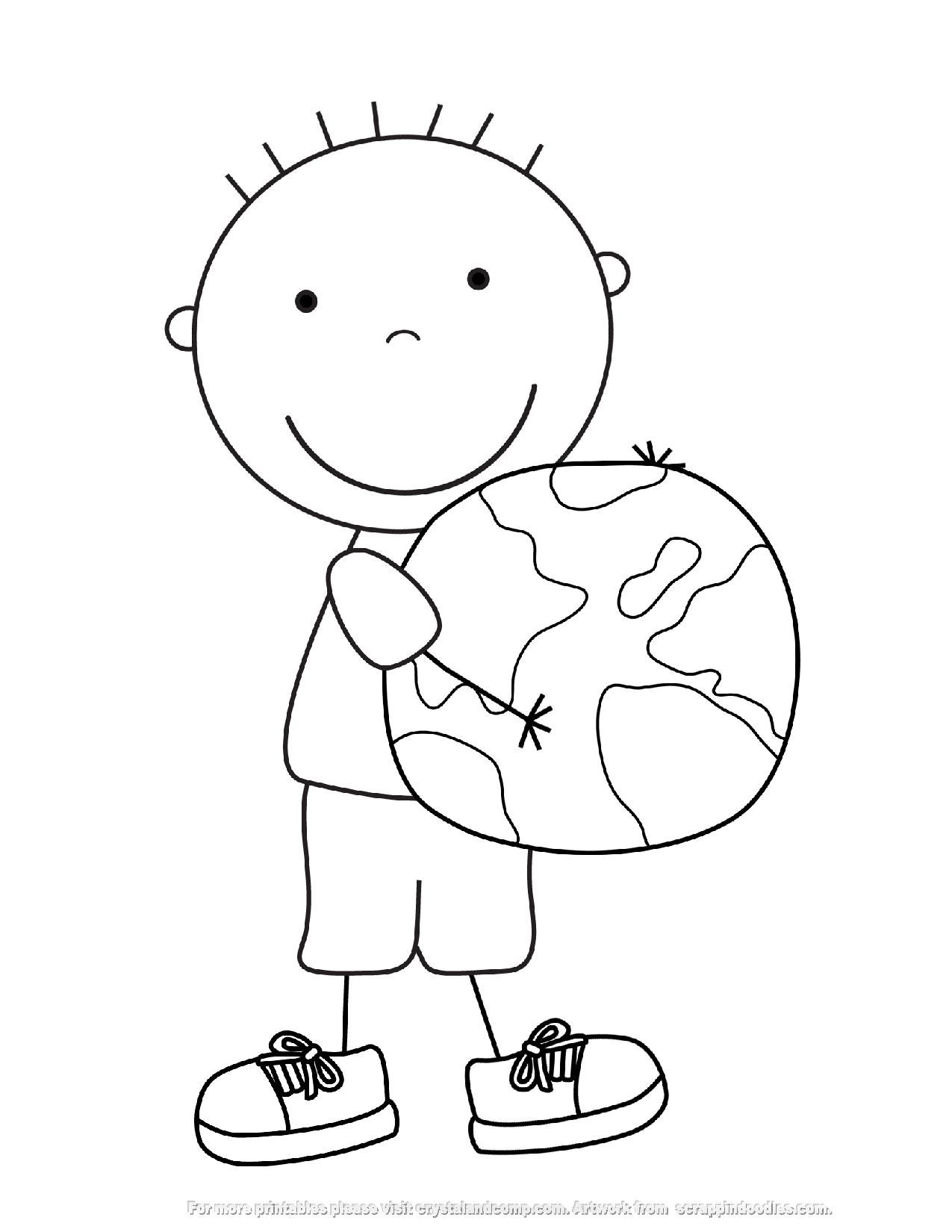 Environmental coloring activities - We Are In Love With Kid Color Pages At Our House These Were So Fun To Make As We Celebrate Earth Day Here Is A Collection Of Six Pages Kids Can Color