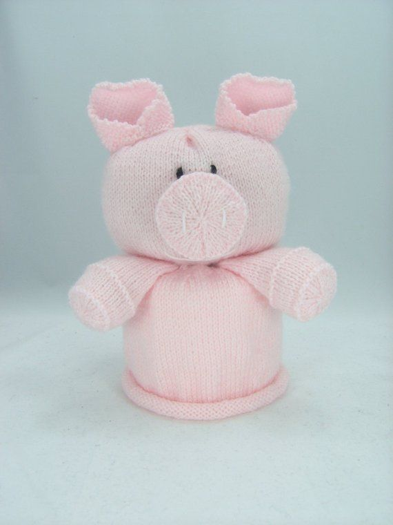 KNITTING PATTERN - Pig Toilet Roll Cover Knitting Pattern Download ...