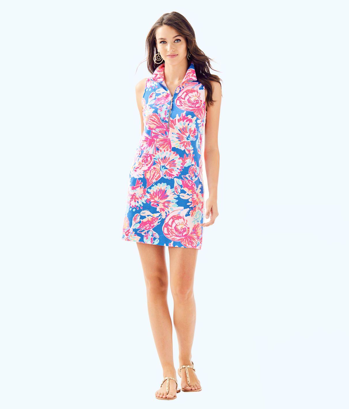 e266611a9aec38 Skipper Sleeveless Dress, Bennet Blue Bay Dreamin, large | Lilly ...