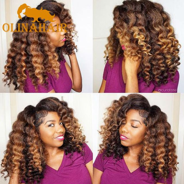 Freetress Ombre Wand Curl Janet Collection Synthetic Kanekalon ...