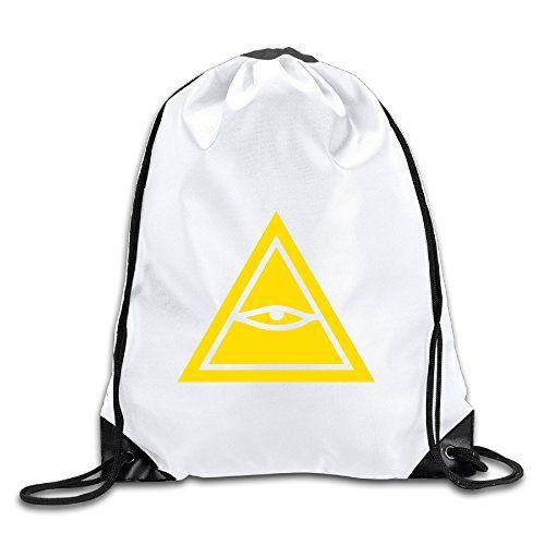 Geek Eye Of Horus Backpack Sack Bag Drawstring
