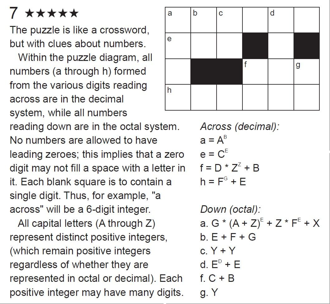 Do You Like Crosswords Here Is New Puzzle By Harry Nelson