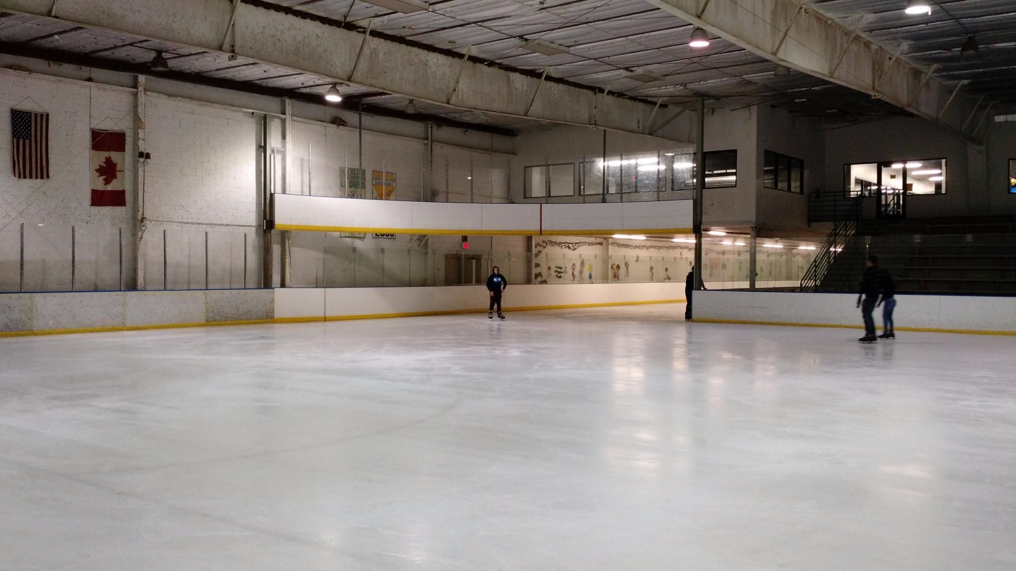 Outpost Ice Arena Coolloop Ice Rink Arena Hockey Life