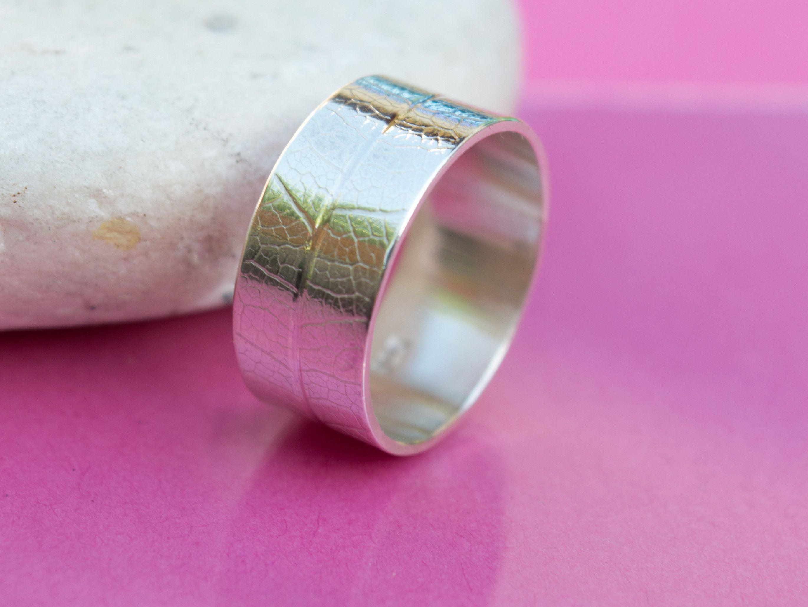 Thumb ring-Band ring-Sterling silver ring-Stacking ring-Silver thumb ...