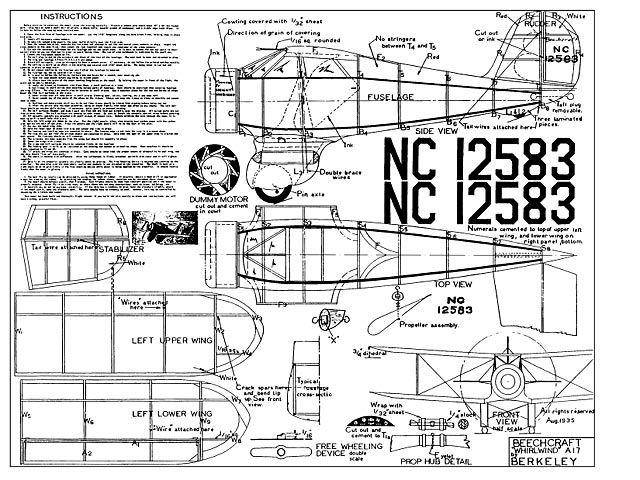 Beechcraft Staggerwing - 235