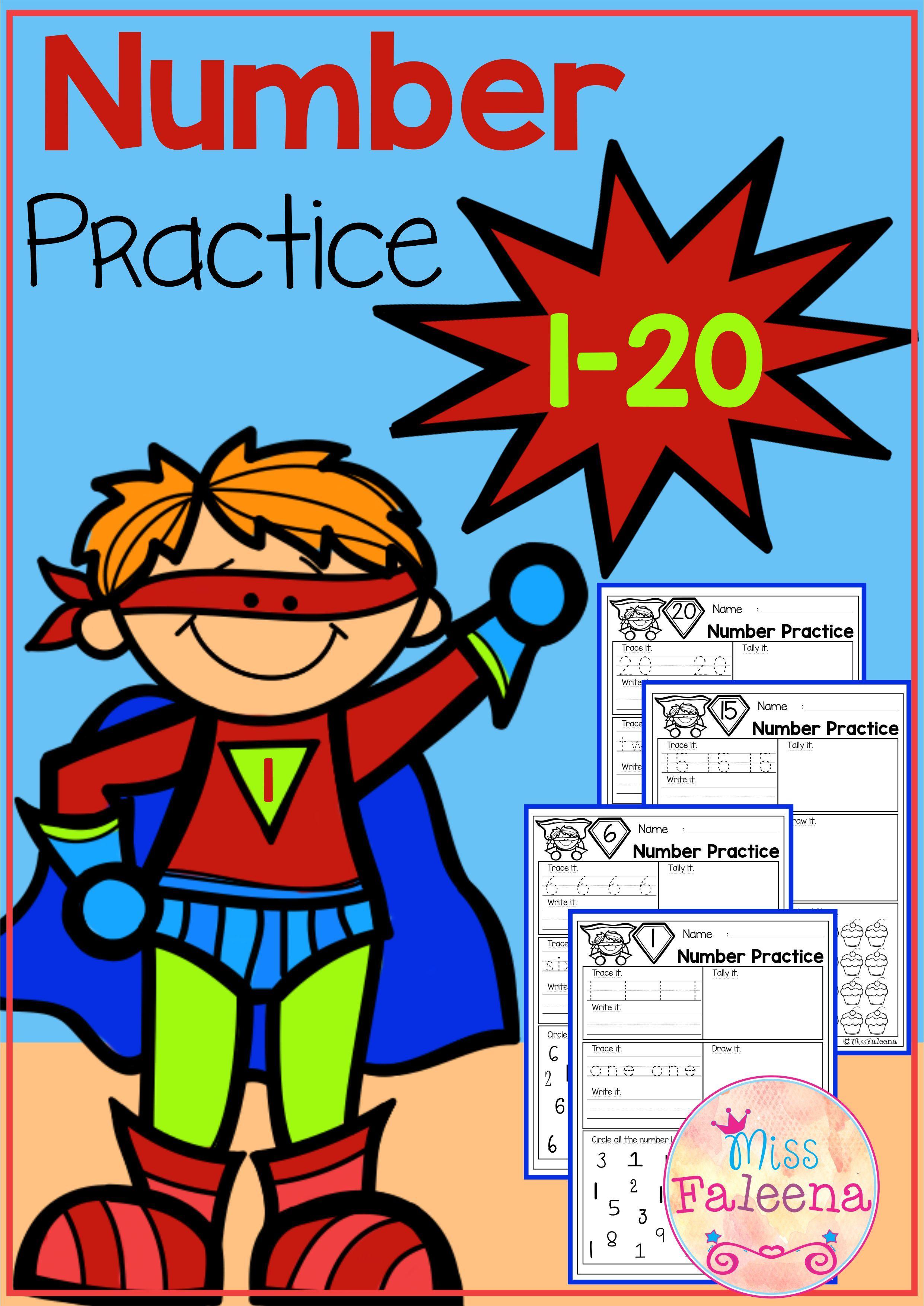 Number 1 20 Practice Set 1