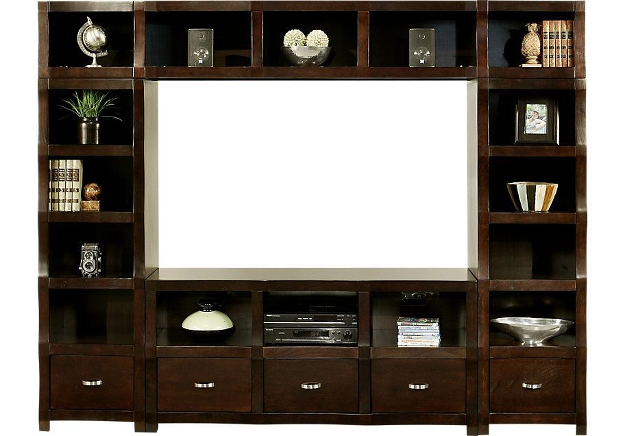Picture Of Eldon Square 4 Pc Wall Unit From Wall Units Furniture