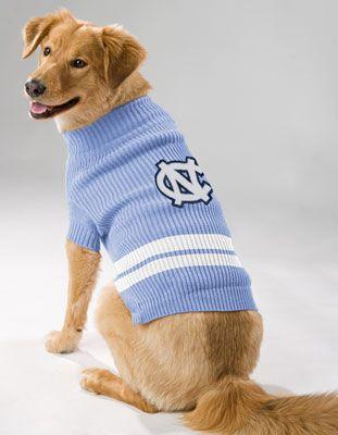 Tar Heels Dog Sweater Unc Apparel Tar Heels Dog Sweater