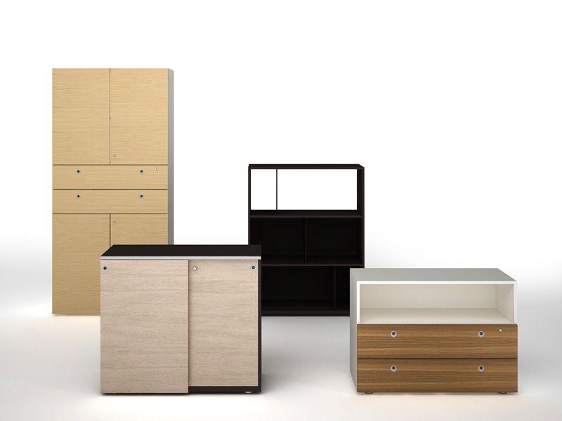 wooden office storage. Modular Wooden Office Storage Unit CASE By ESTEL GROUP