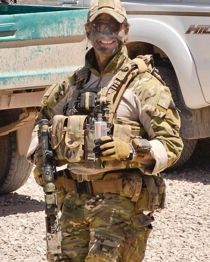 Sergeant Blaine Diddams of Australia's Special Air Service