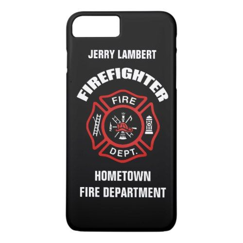 Firefighter name template iphone 7 plus case fire fighter firefighter name template iphone 7 plus case maxwellsz