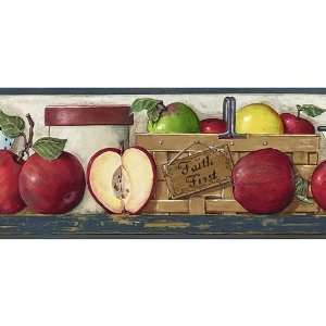 Charming Apple Border For The Kitchen   PopScreen   Video Search, Bookmarking And  Discovery Engine