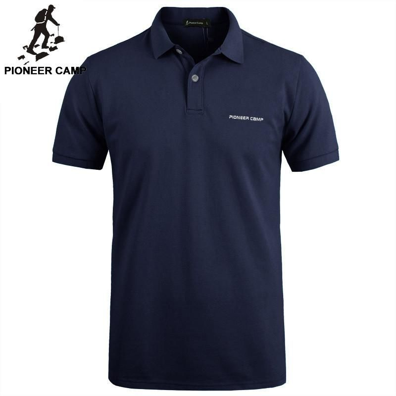 Pionner Camp Brand clothing New Men Polo Shirt Men Business & Casual solid male