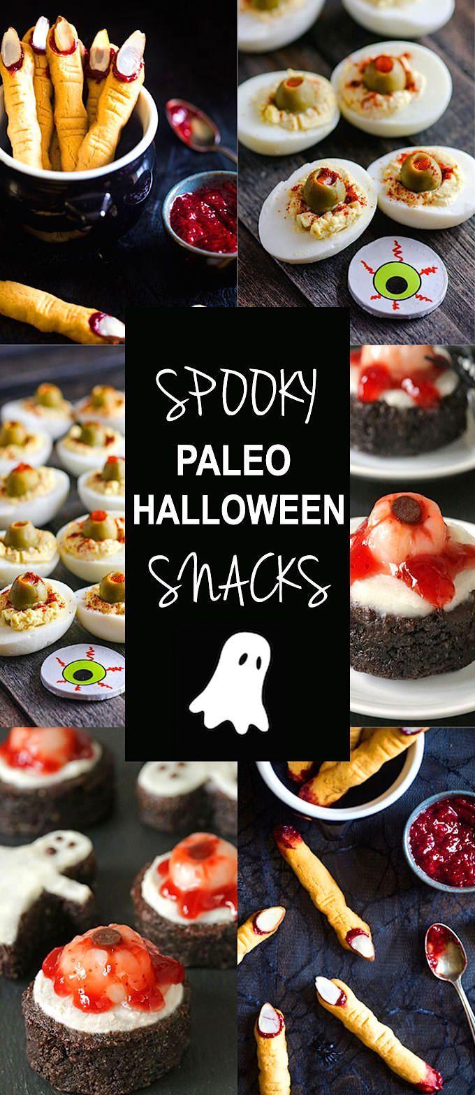 Deviled Egg Halloween Eyeballs (Paleo) Recipe Witch