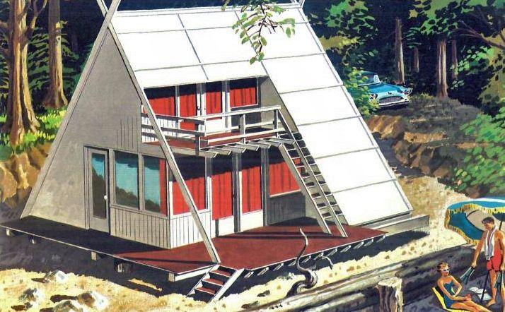'Second Homes for Leisure Living' - Retronaut
