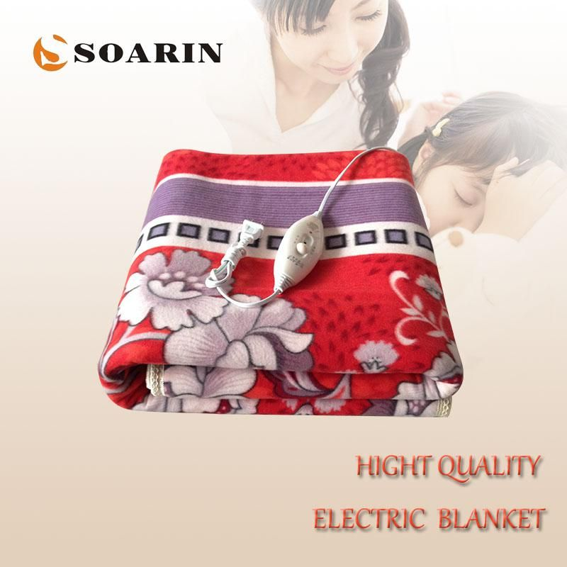 Soarin Electric Blanket Double For Beds Manta Electrica 150x120cm Heated Blanket Plush Body Warmer Heat Carpet Manta Electrica Heated Blanket Electric Blankets Weighted Blanket