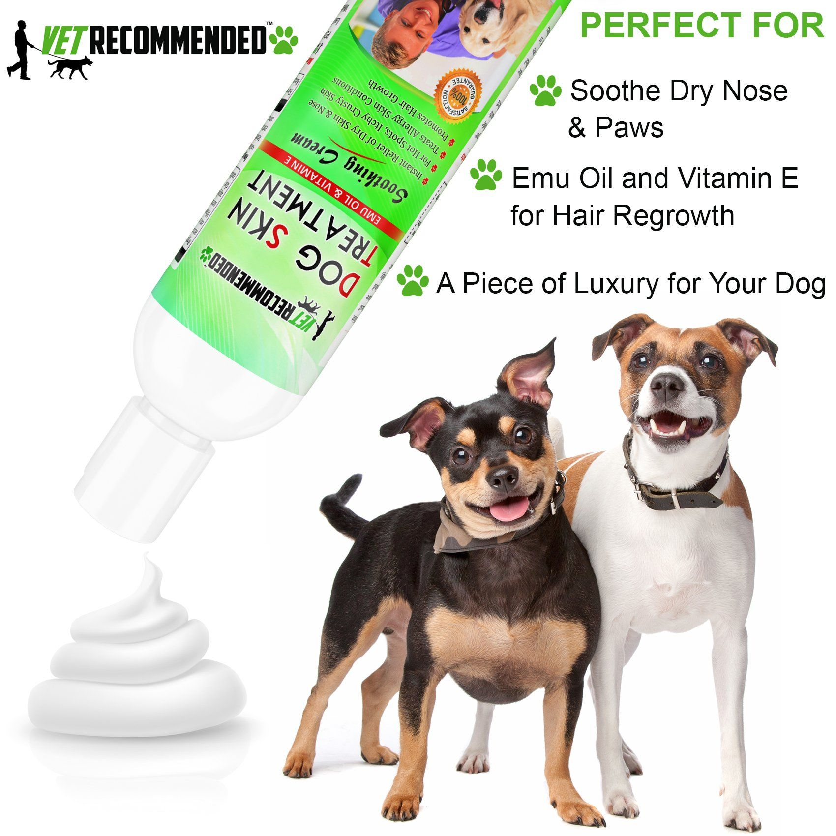 Vet Recommended Dog Dry Skin Treatment Helps Dog Hair Loss