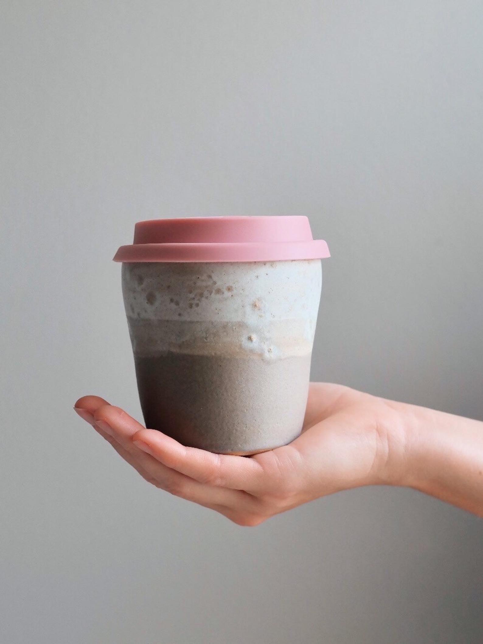 Ceramic Travel Mug Pottery Keep Cup Handmade Reusable Etsy Pottery Stoneware Pottery Functional Pottery