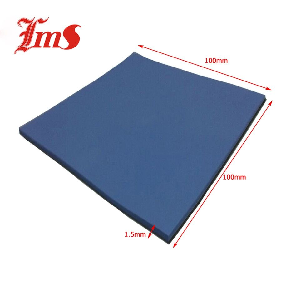 Only 4 99 Get Laptop Cooling Pads Information About 100mm X 100mm X 1 5mm Blue High Temperature Conductiv Cheap Sheets High Quality Sheets Laptop Cooling Pad