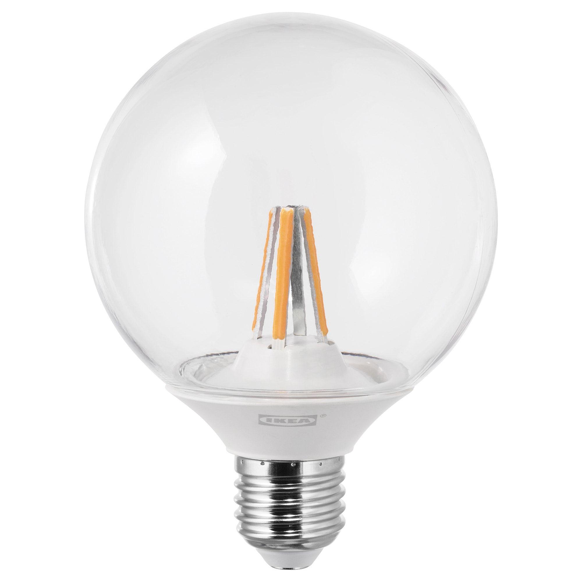 NITTIO LED Leuchtmittel E27 20 lm rund kupferfarben IKEA