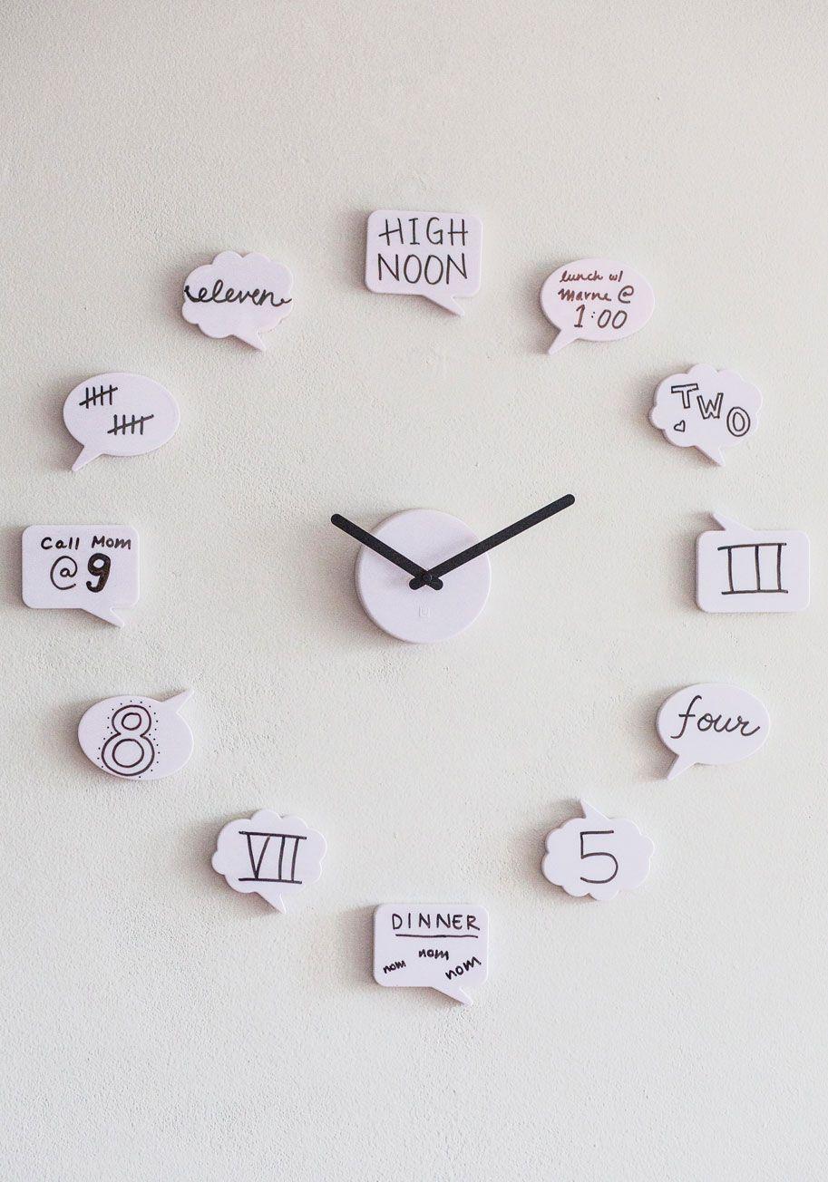 Tutoriales y diys idea para hacer un reloj de pared las - Hacer un reloj de pared ...