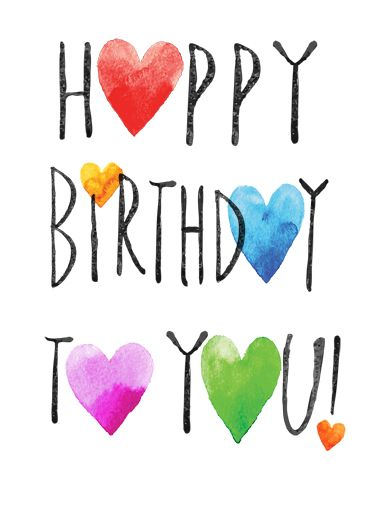 Happy Birthday Hearts Fb Cards Pinterest Happy Birthday