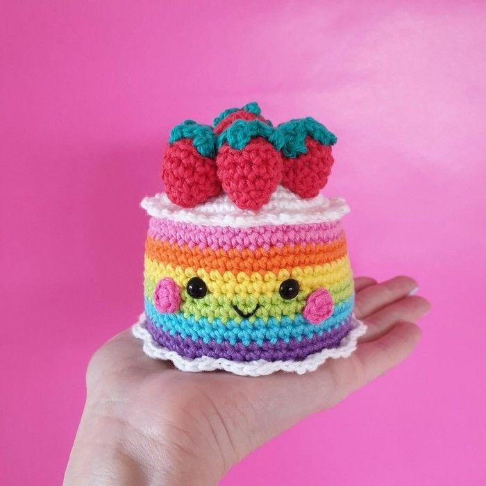 Rainbow Cake Anleitungen #haken