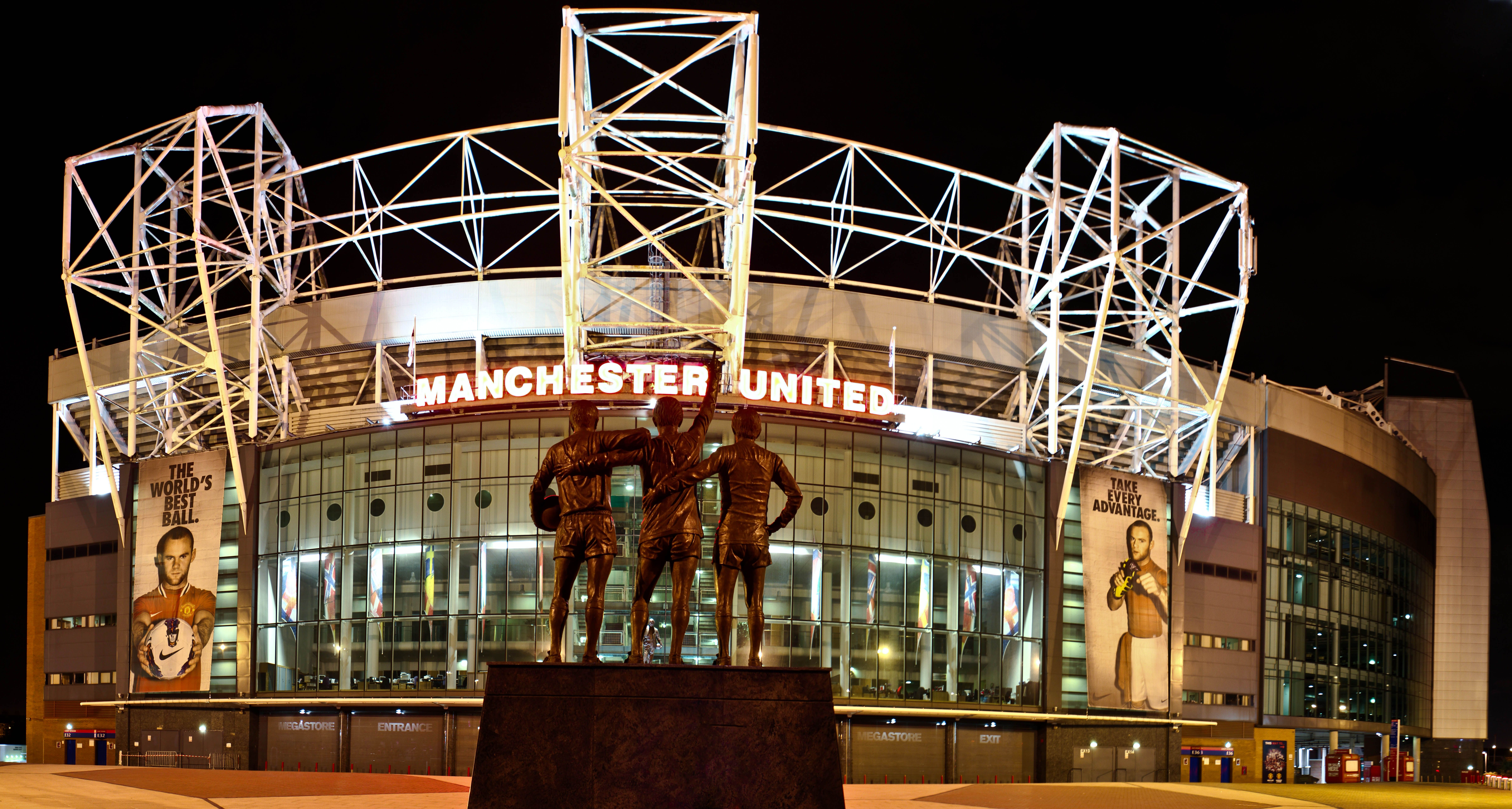 Old Trafford Manchester United S Stadium Is Nicknamed The Theatre Of Dreams A Tour Of Old Trafford And A Vi Old Trafford Manchester Manchester United Fans