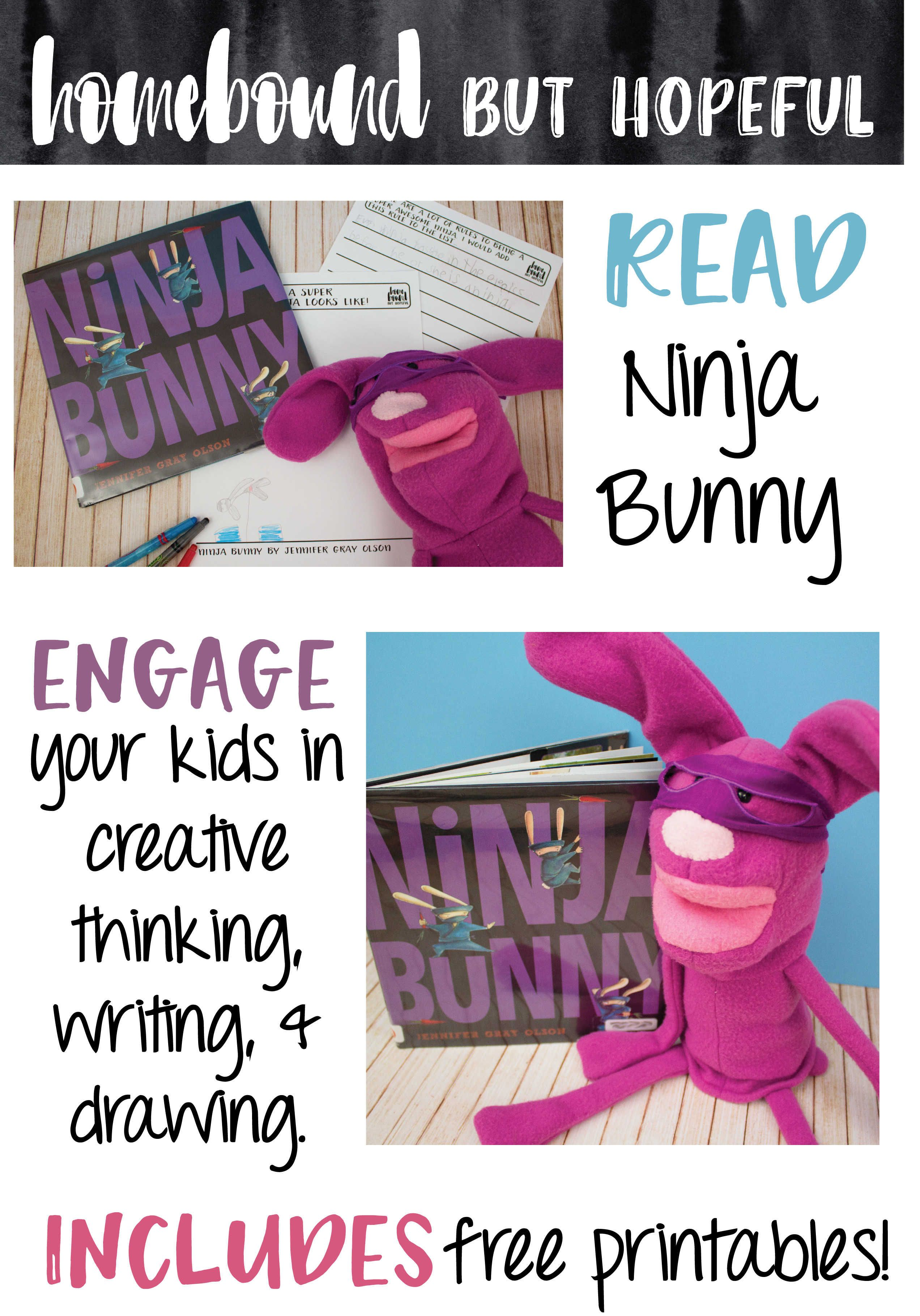 Creative Writing Inspired By 'ninja Bunny' How To Make
