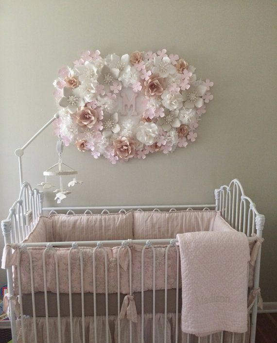 Decorations For Baby Girl S Nursery Bedroom By Blomespaperie