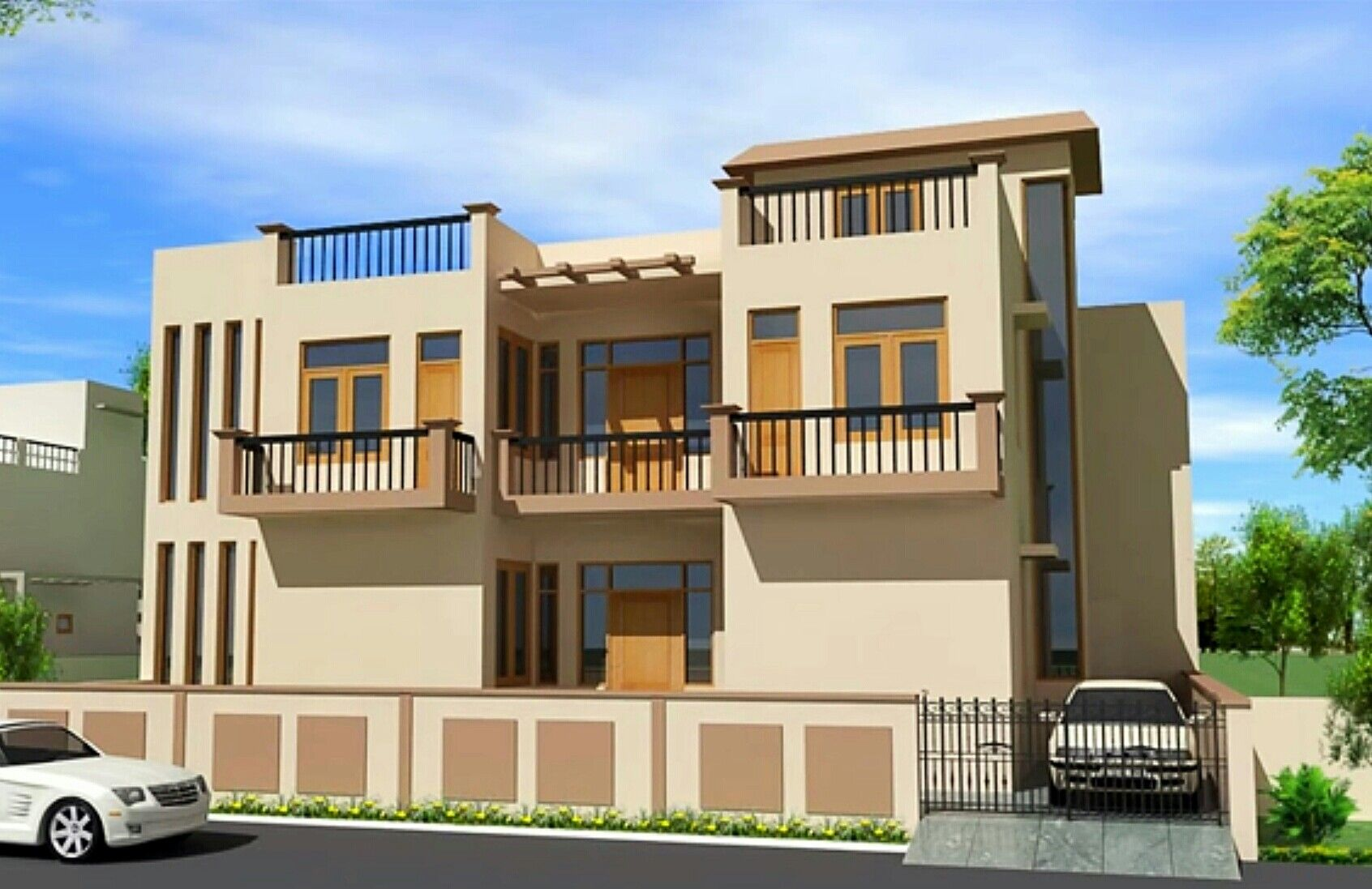 Front Design For House In India Part - 36: House · Front Design ...