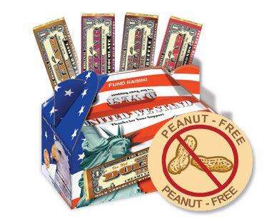 Peanut Free 1 Chocolate Bars Easy Fundraising Ideas Pta Fundraising Easy Fundraisers School Fundraisers