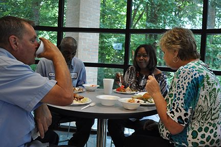 Lots of good food, good conversation and fellowship were the highlights of the luncheon.